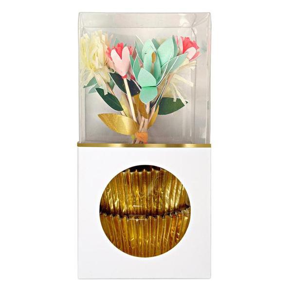 Flower Bouquet Cupcake Kit