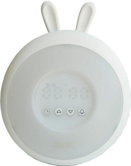 Rabbit & Friends Wake Up Lamp, White