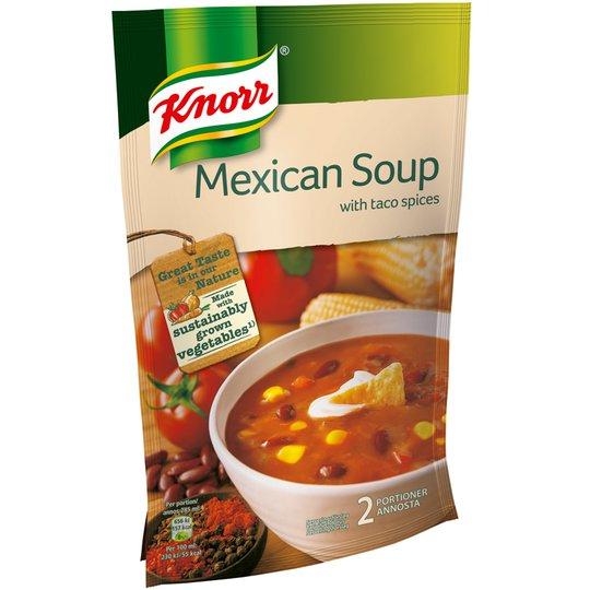 """Soppa """"Mexikansk"""" 570ml - 27% rabatt"""