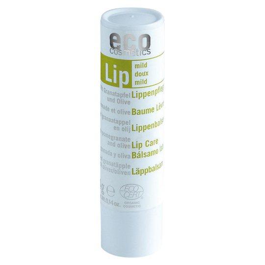 Eco Cosmetics Läppbalsam Granatäpple & Olivolja, 4 g