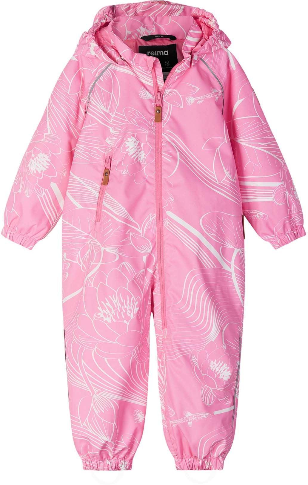Reimatec Drobble Overall, Neon Pink, 92