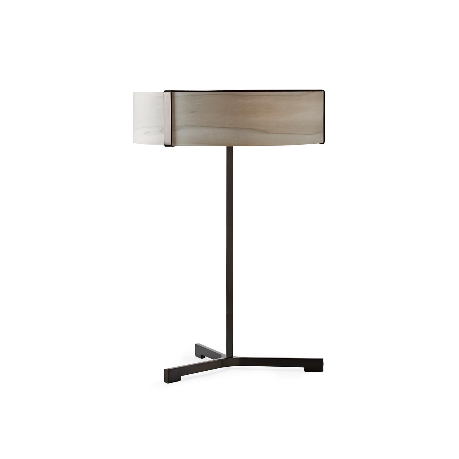 LZF Thesis -LED-pöytälamppu musta/harmaa