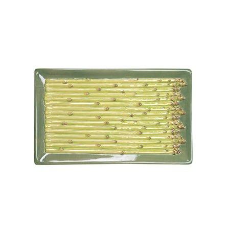 Tallerken Asparagus Grønn