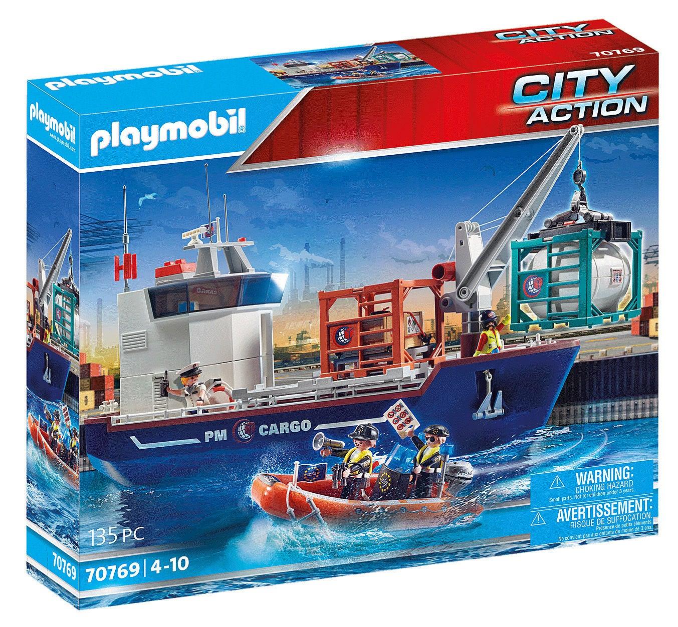 Playmobil 70769 City Action Lasteskip