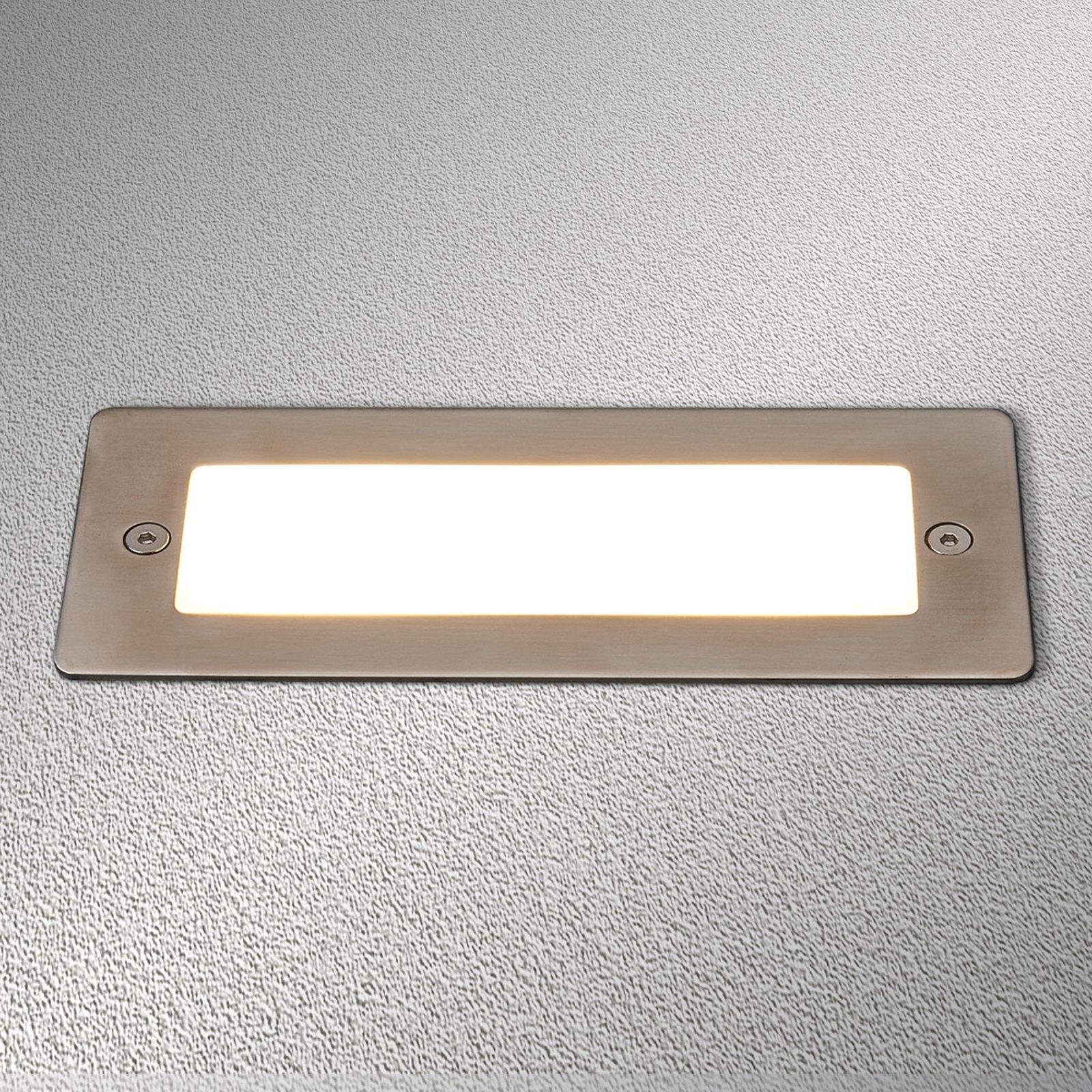 Utendørs Holly LED-innbygningslampe til vegg