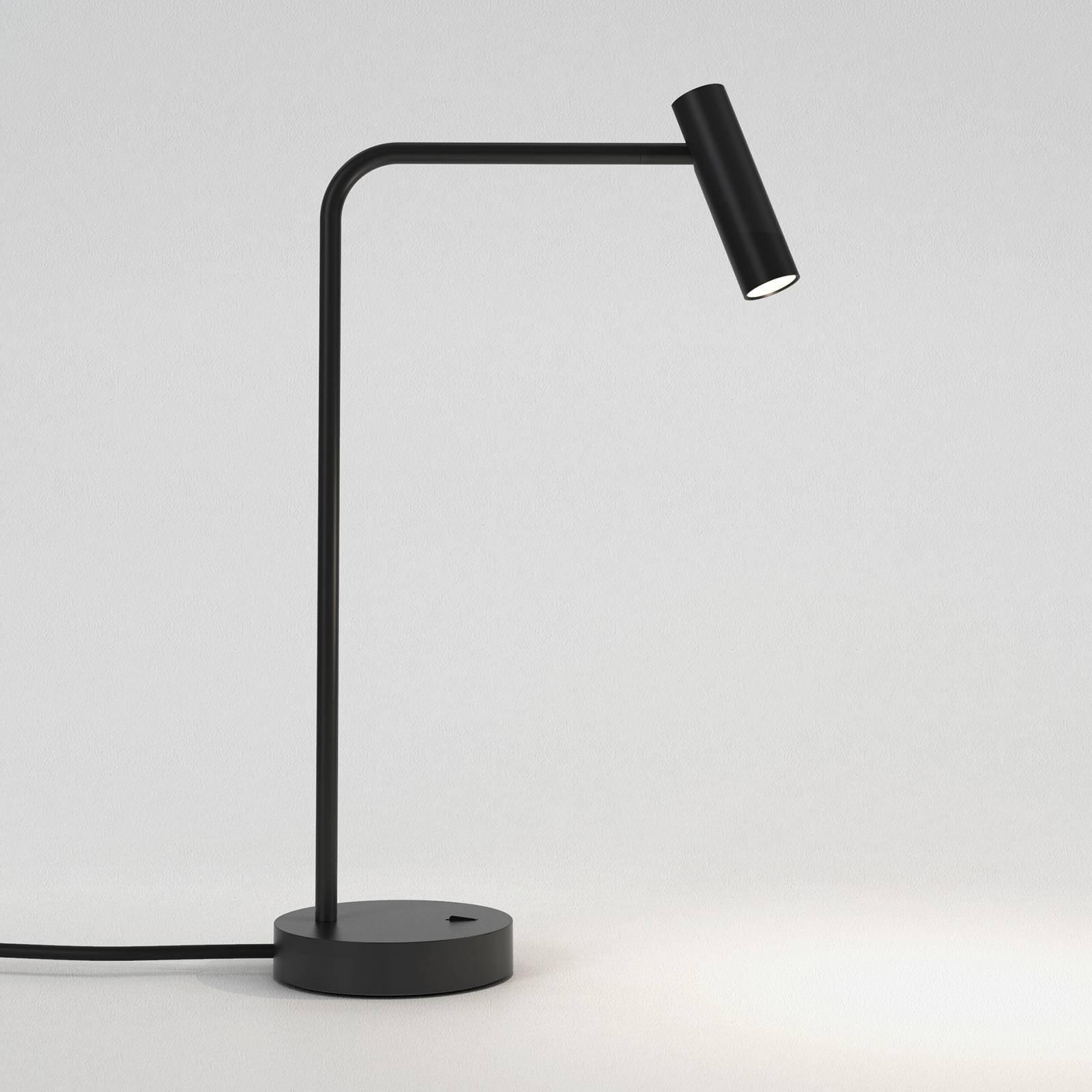 Astro Enna -LED-pöytävalaisin, mattamusta