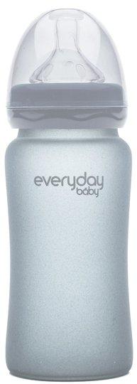 Everyday Baby Tåteflaske 240 ml, Quiet Grey