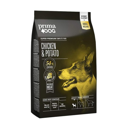 PrimaDog Adult Small Breed Chicken & Potati (4 kg)