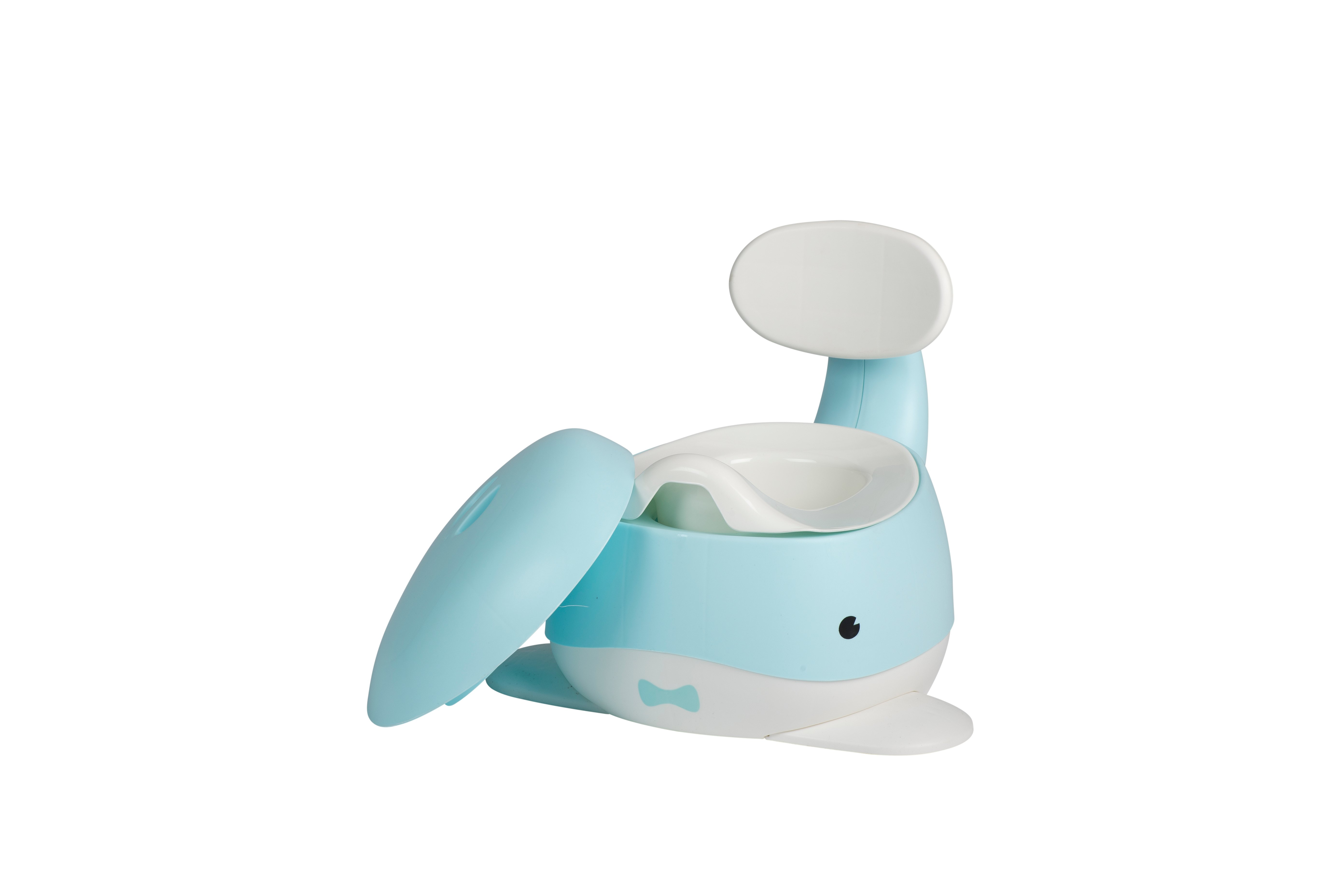 Babytrold - Baby Whale Potty - White and Blue
