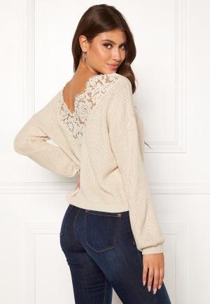 ONLY Xenia L/S Pullover Pumice Stone L