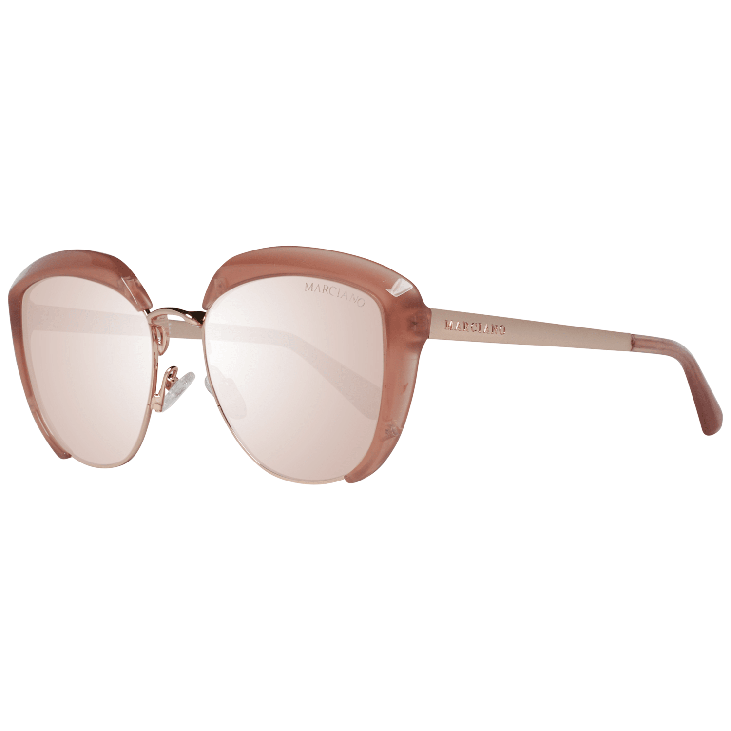 Guess By Marciano Women's Sunglasses Rose Gold GM0791 5472Z