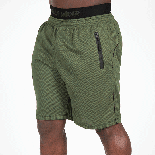 Mercury Mesh Shorts, Army Green/Black