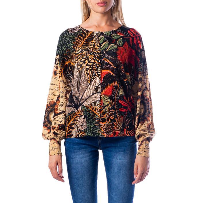 Desigual Women's Sweater Beige 176601 - beige XS