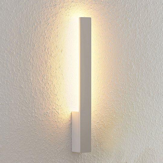 Arcchio Thiago LED-vegglampe, hvit