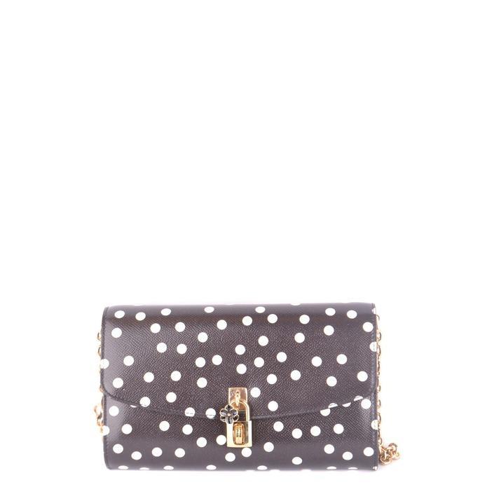 Dolce & Gabbana Women's Shoulder Bag Black 187887 - black UNICA