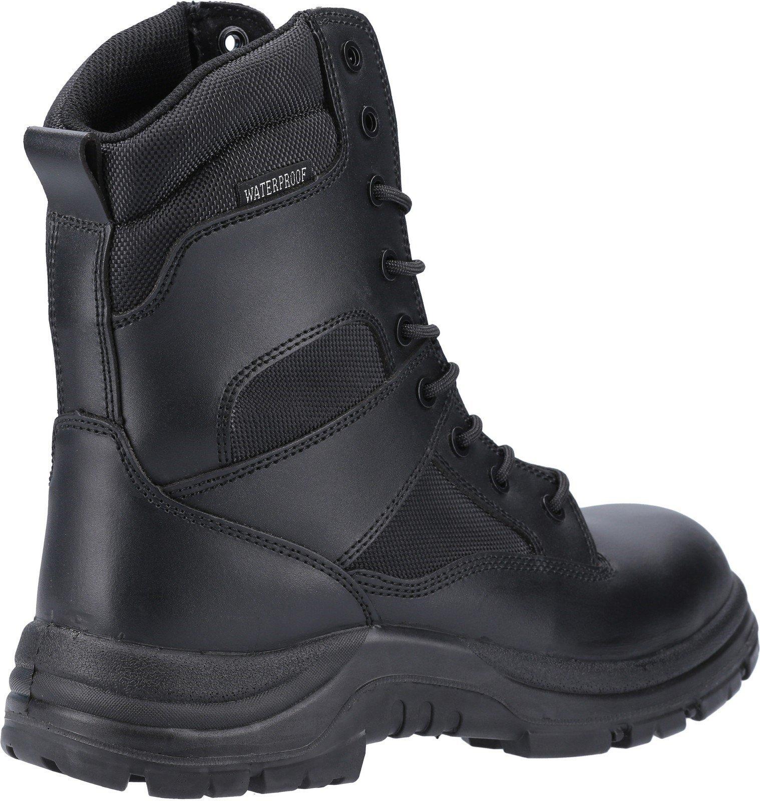 Amblers Unisex Safety Combat Hi-Leg Waterproof Boot Black 20417 - Black 4
