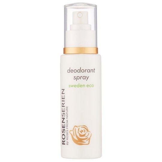 Rosenserien Ekologisk Deodorant Spray - Rose, 100 ml
