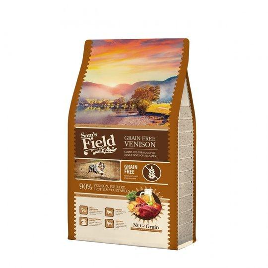 Sam's Field Adult Grain Free Venison (2,5 kg)