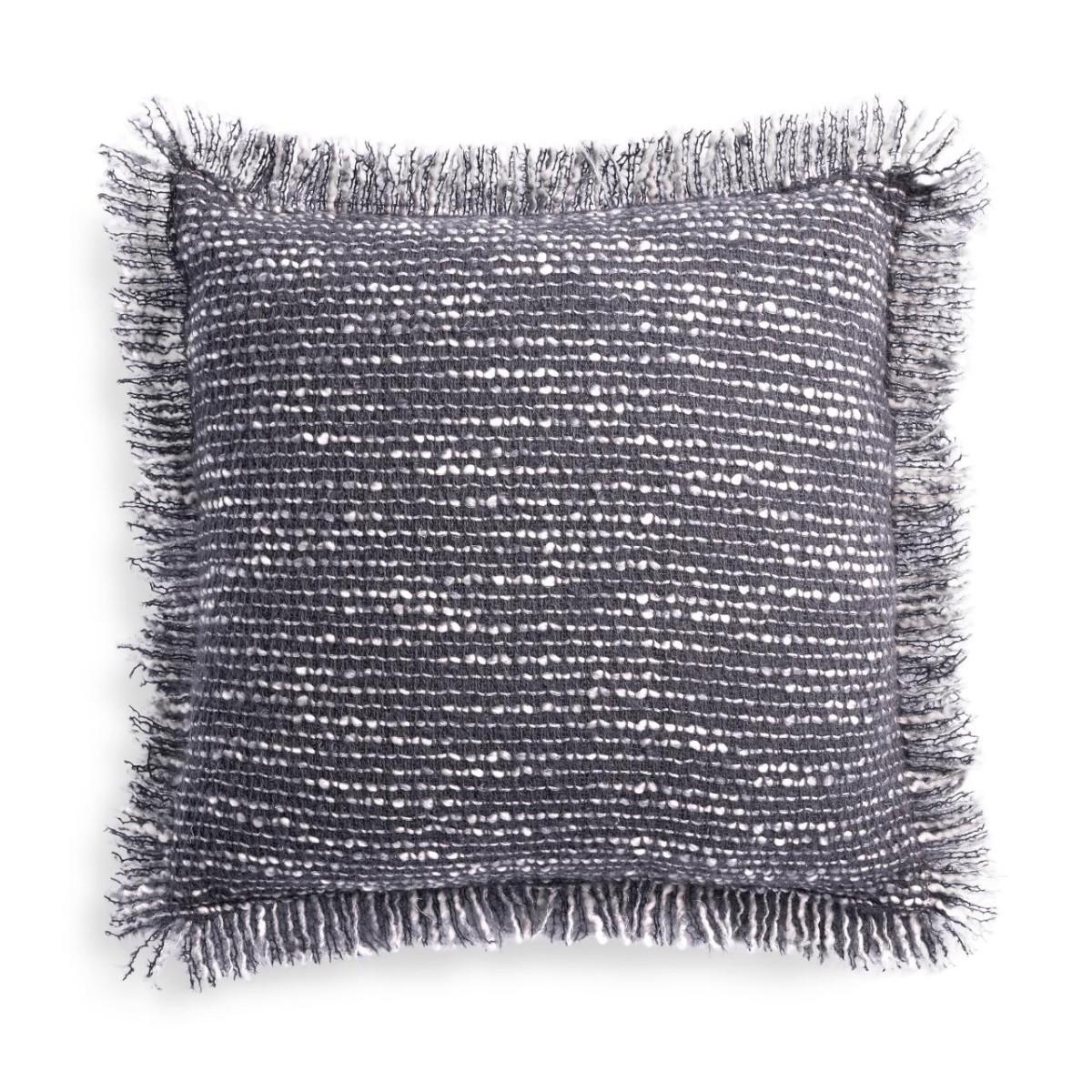 L'Objet I Seville Bouclé Pillow - Small I Grey