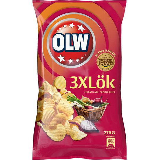Chips 3xLök - 32% rabatt
