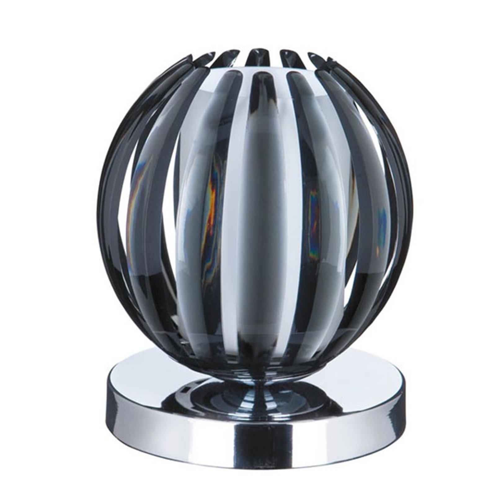 Bordlampe Claw med berøringsfunksjon, skjerm røyk