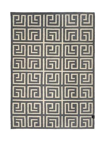 Labyrinth titanium teppe - 170x230