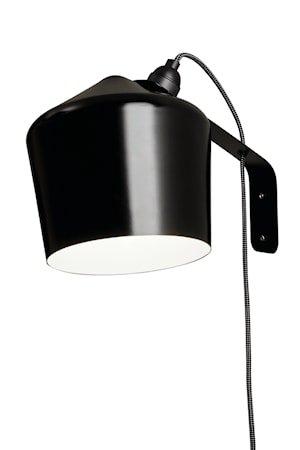 Vegglampe Pasila – Svart