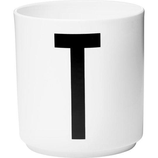 Design Letters Porslinsmugg Vit, T