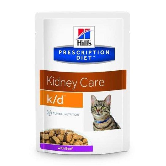 Hill's Prescription Diet Feline k/d Kidney Care Beef 12x85 g