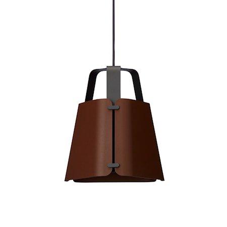 Fold Pendel Antrasitt/Mørk Ruststruktur 27 cm