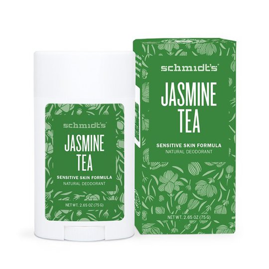 Schmidts Naturals Sensitive Skin Deodorant Stick Jasmine Tea, 75 g