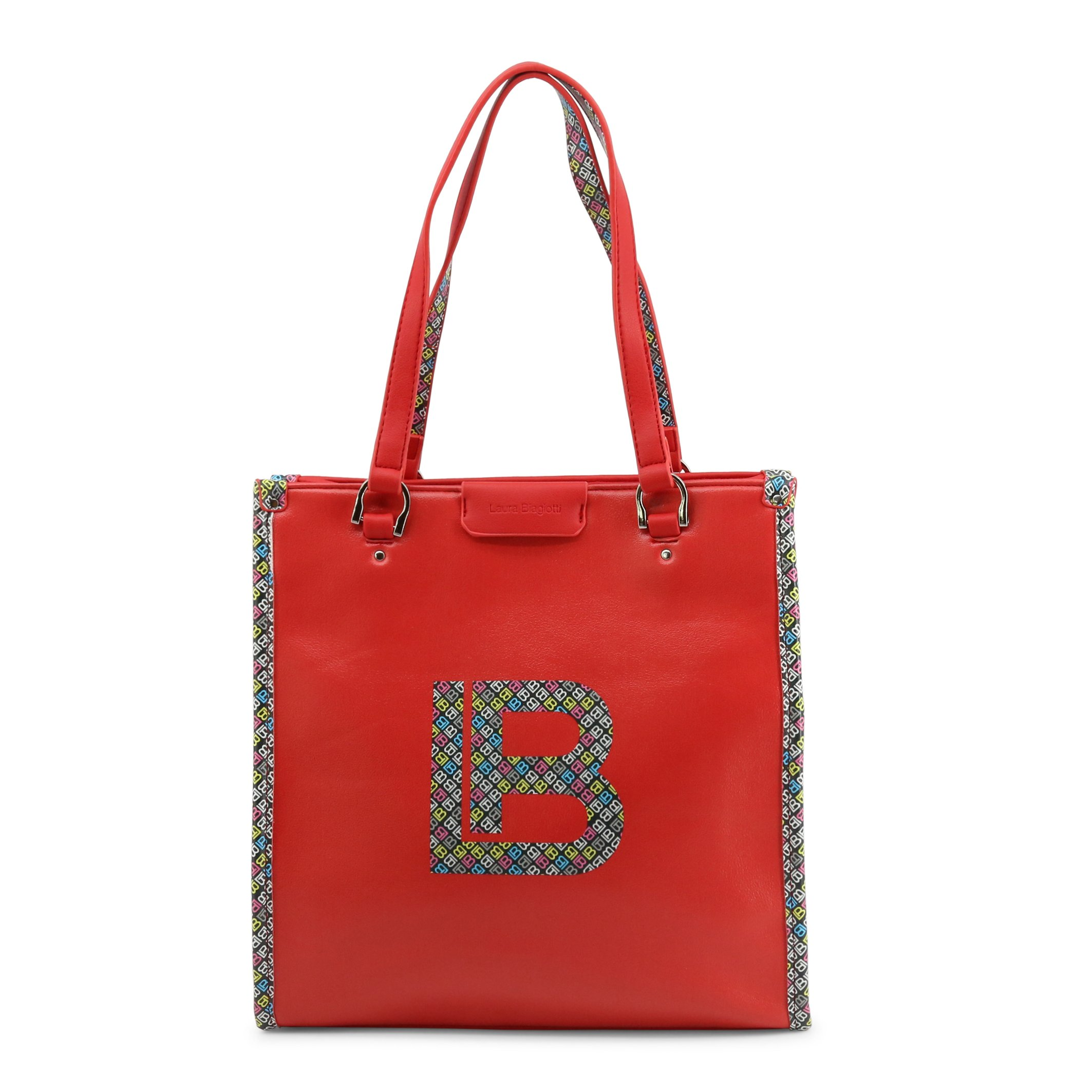 Laura Biagiotti Women's Shoulder Bag Various Colours Milla_108-1 - red NOSIZE