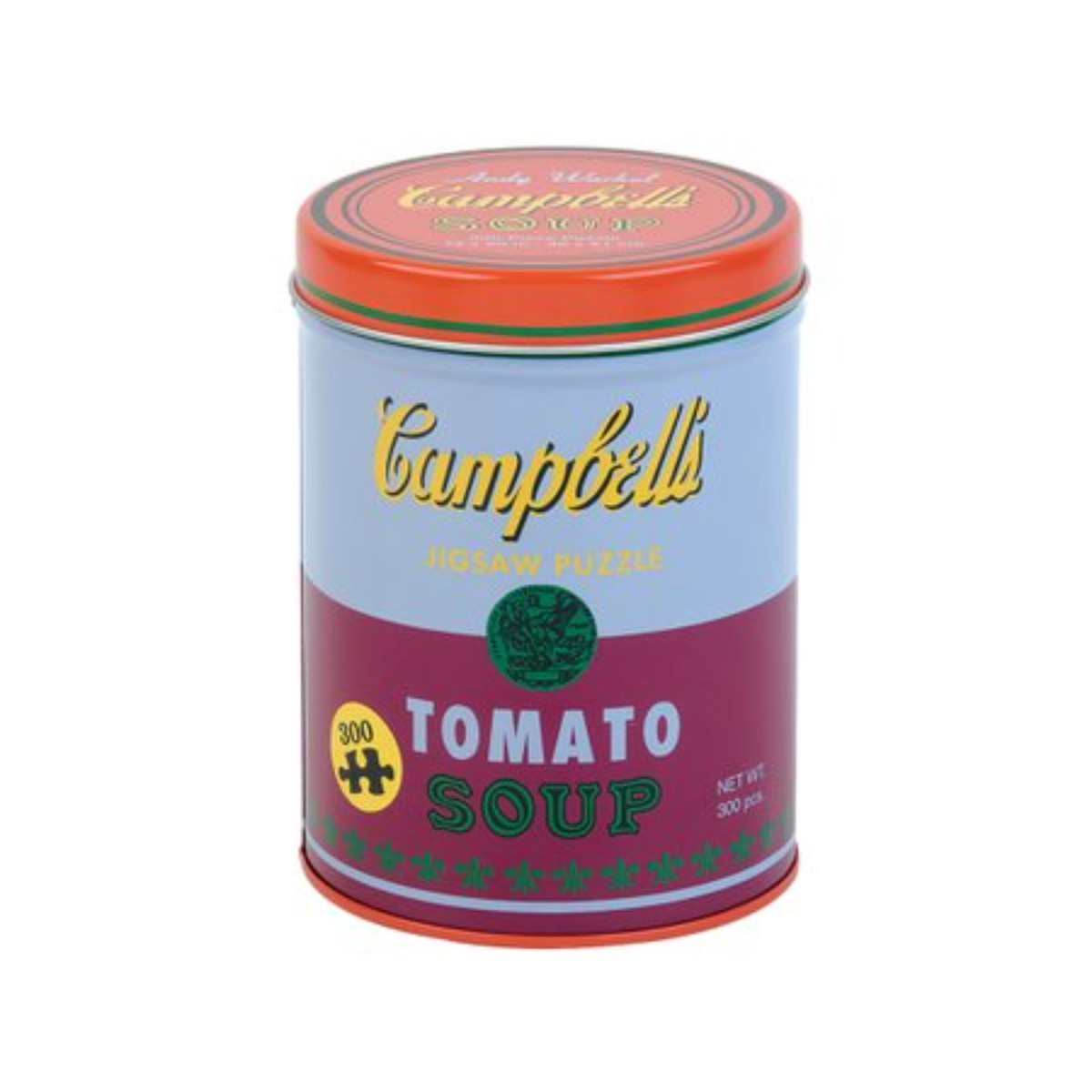 Andy Warhol I Soup Can Red Violet 300 Piece Puzzle
