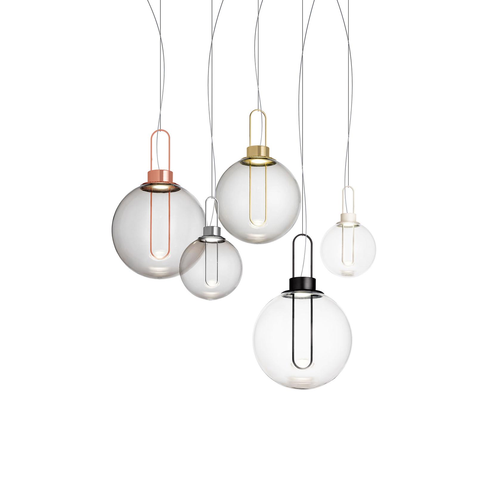 Modo Luce Orb LED-riippuvalaisin, kupari, Ø 40 cm