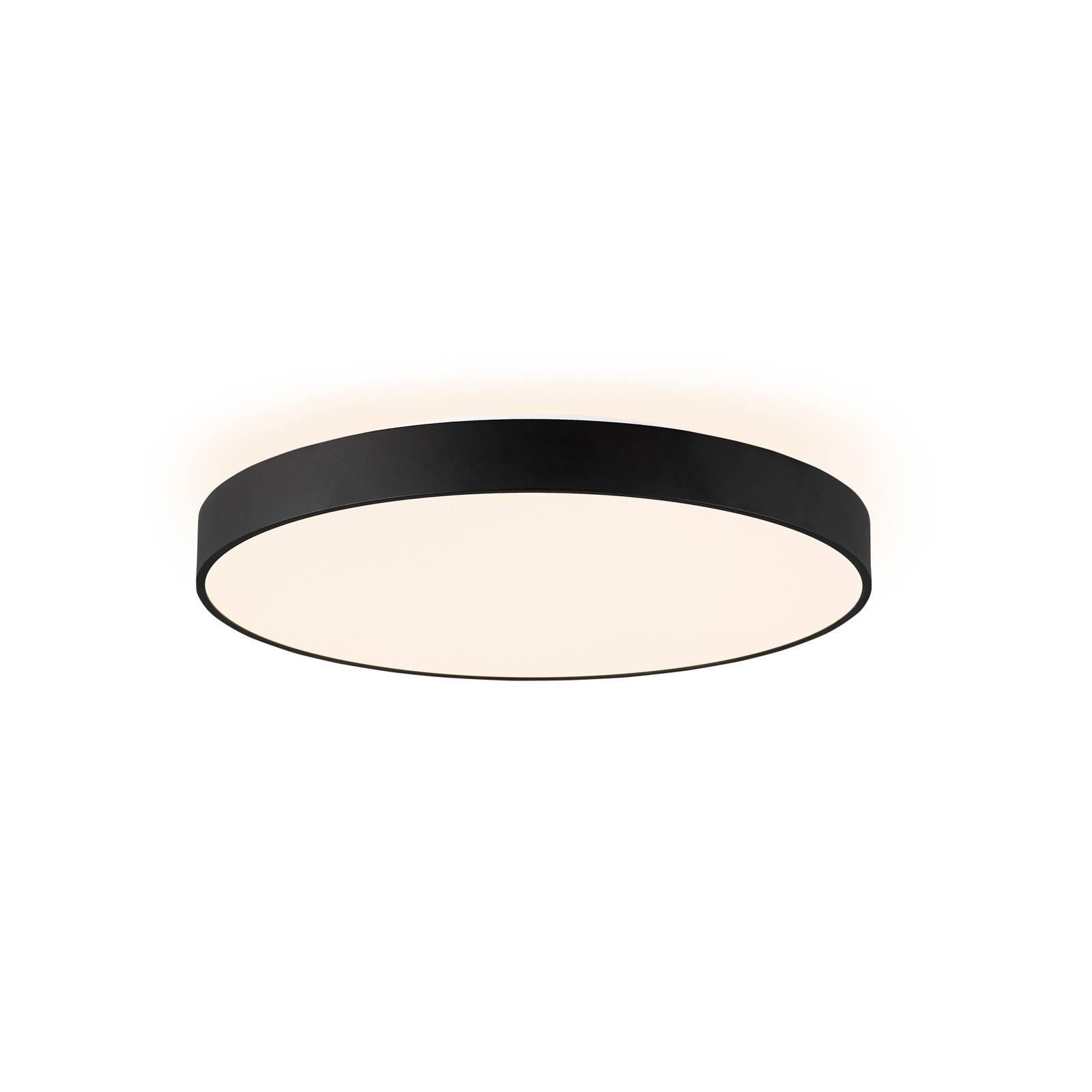 Arcchio Vanida -LED-kattovalaisin musta, 60 cm
