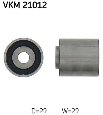 Ohjainrulla, hammashihna SKF VKM 21012