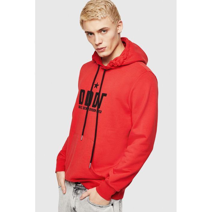 Diesel Men's Sweatshirt Red 294035 - red L