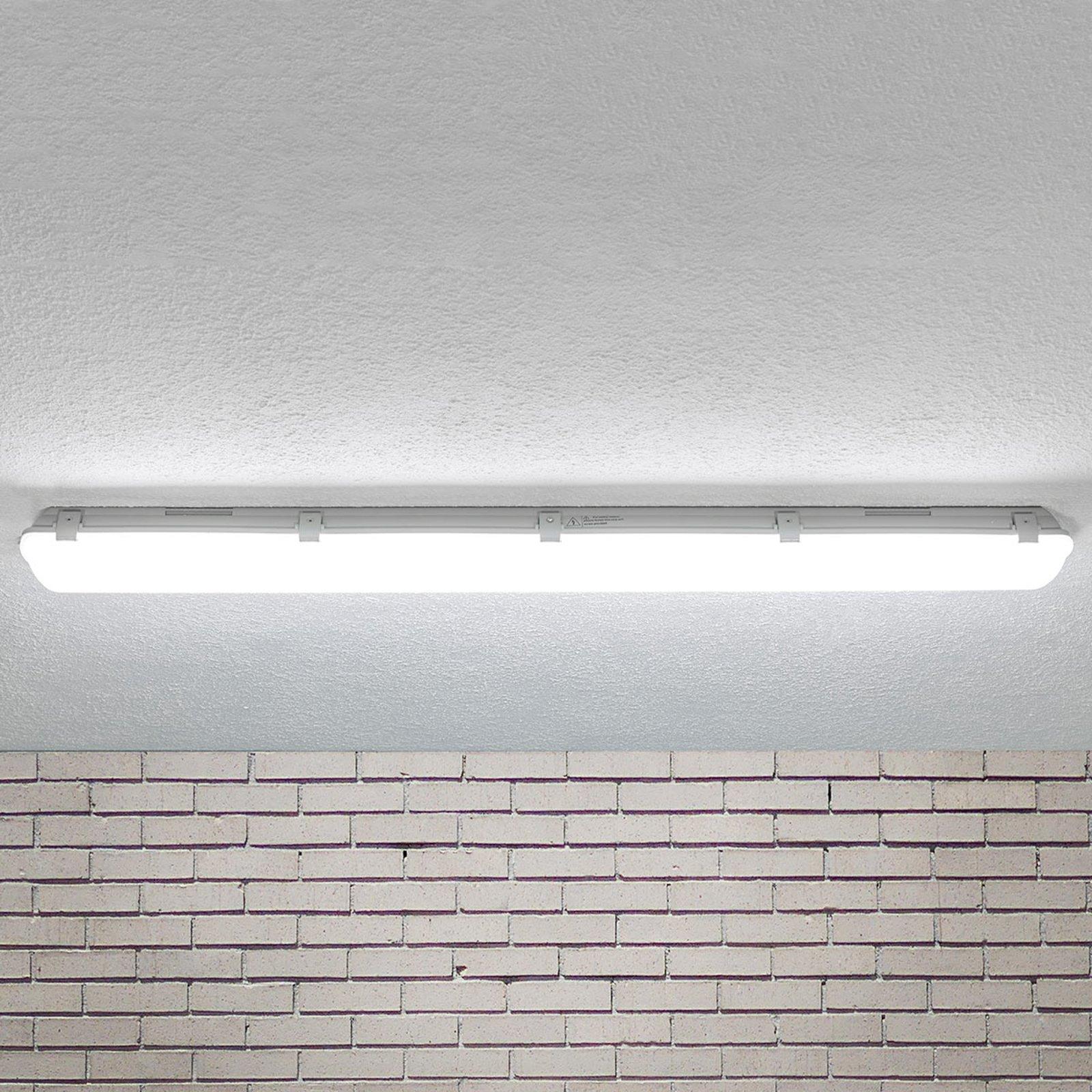 LED-taklampe Mareen IP65 34W 121,5cm