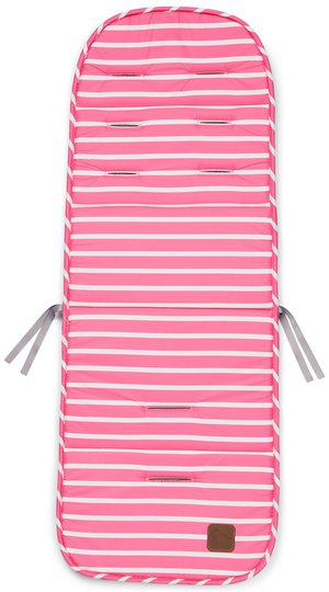 Nordbjørn Sittepute Striped, Pink
