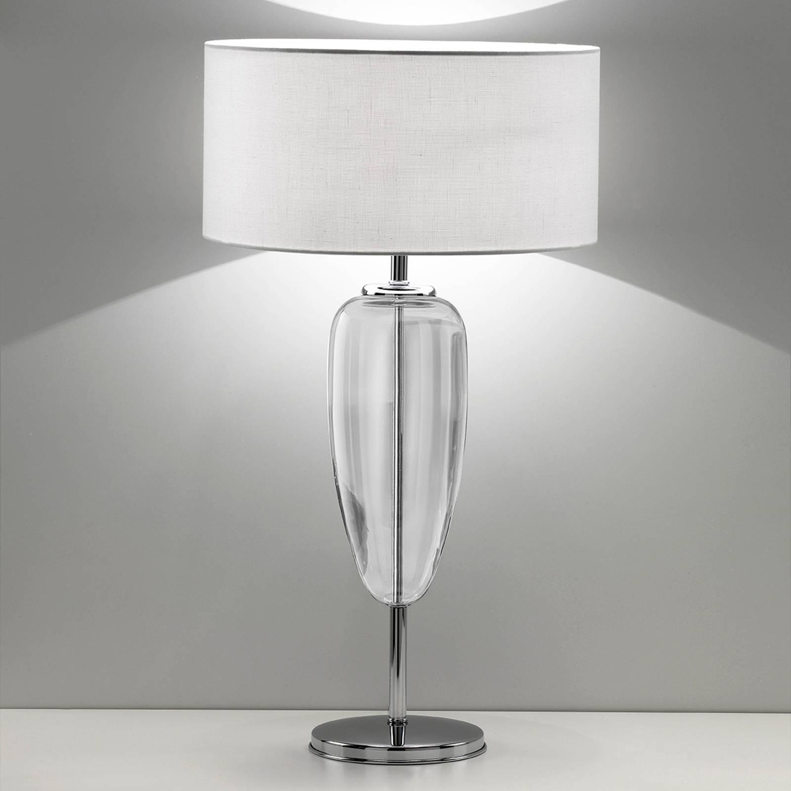Pöytälamppu Show Ogiva 82 cm lasielementti kirkas