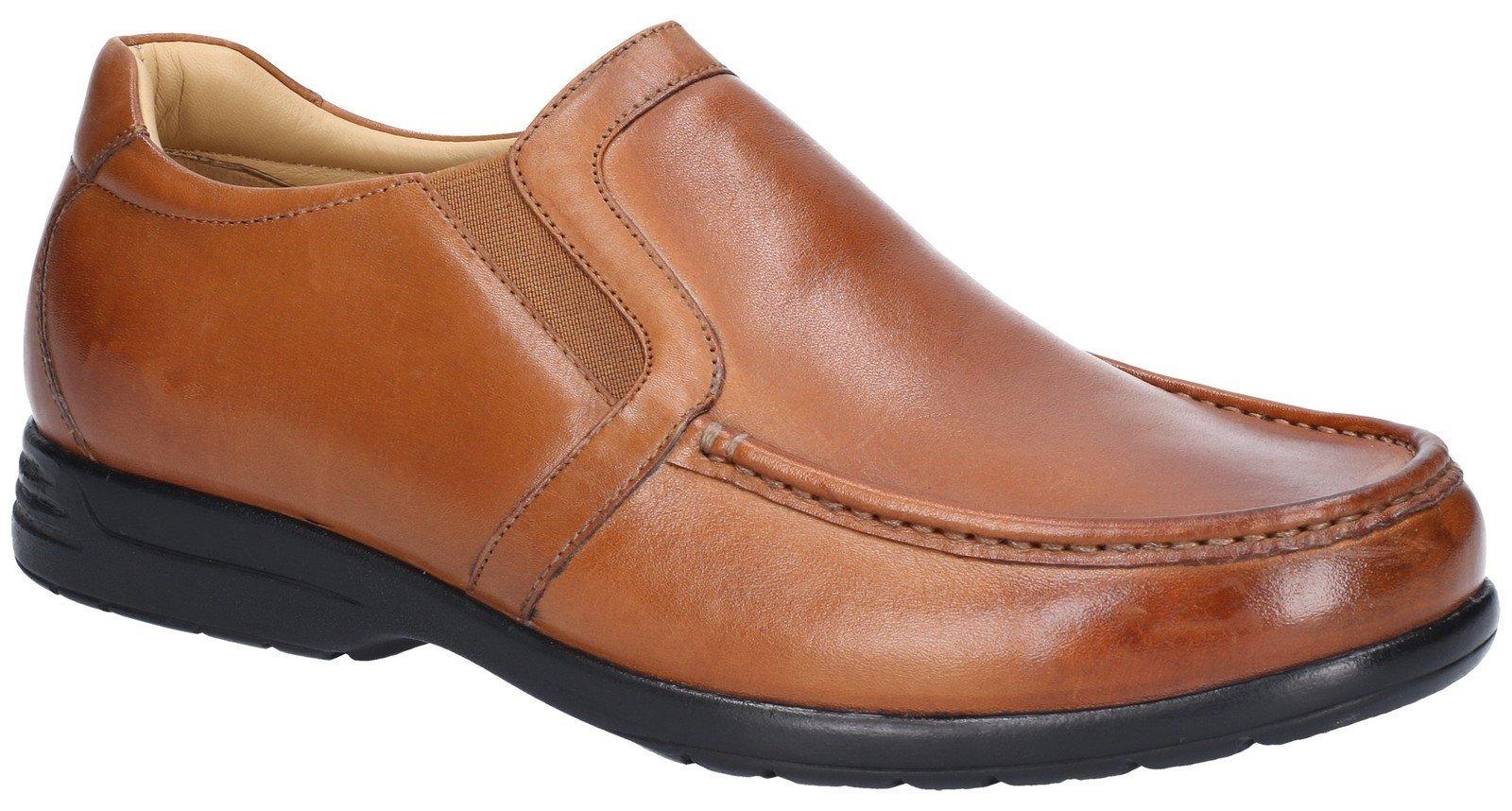 Fleet & Foster Men's Gordon Dual Fit Shoe Brown 29002-49017 - Tan 13