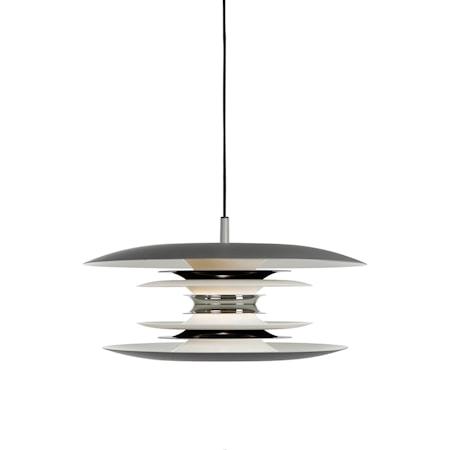 Diablo Pendel Grå/Blanksvart LED 40 cm