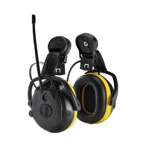 Hellberg SECURE REACT Kuulosuojain Radio, ympäristönkuuntelu, kypäräkiinnike