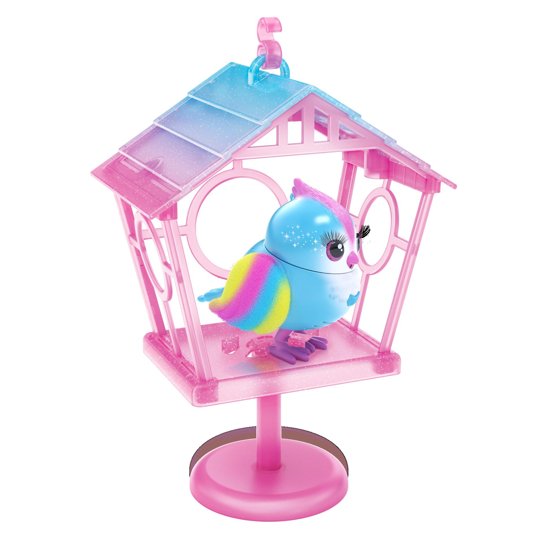 Little Live Pets - Bird Cage S10 - Rainbow Tweets
