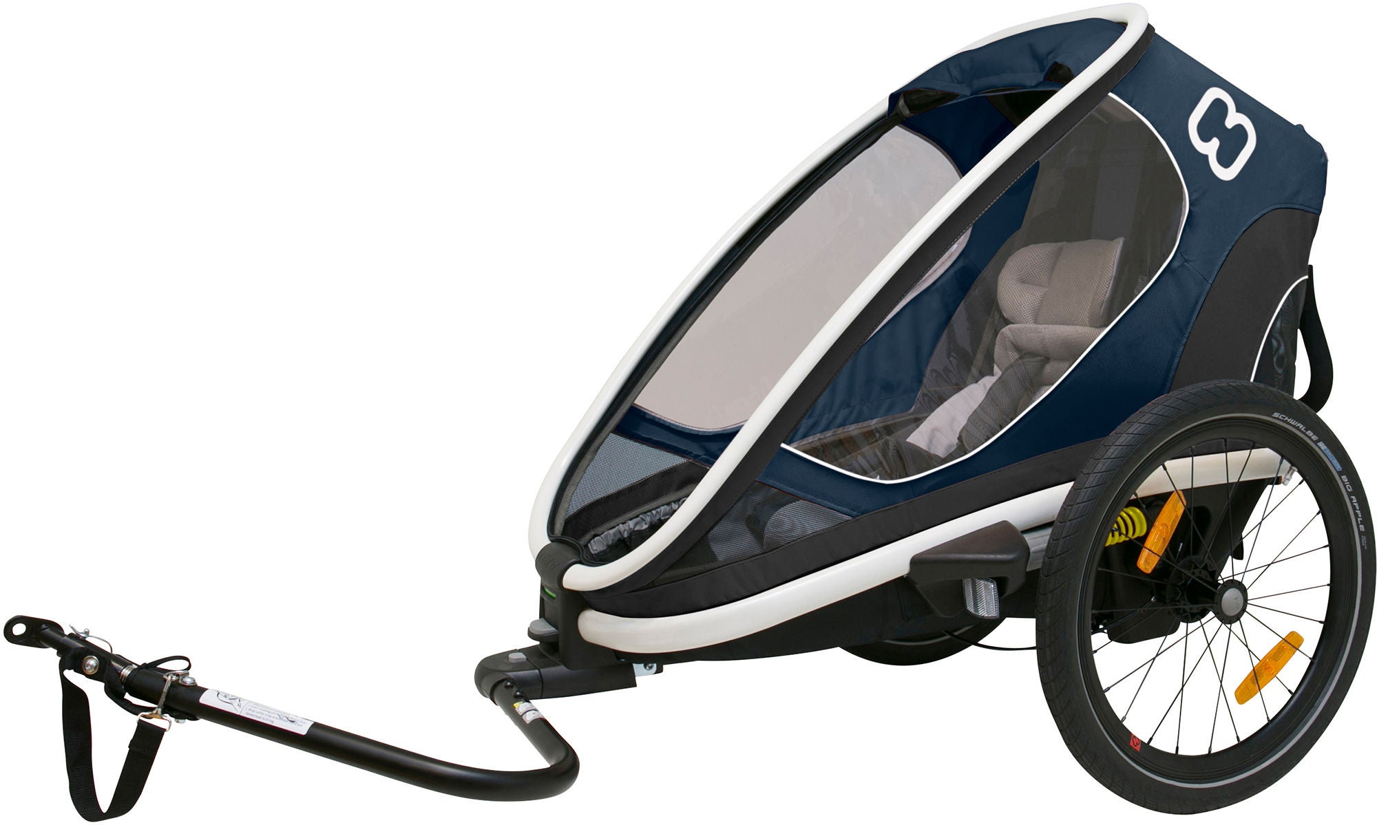 Hamax Outback One Reclining, Navy/White