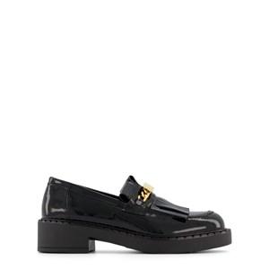 Balmain Black Patent Leather Loafers 35 (UK 2.5)