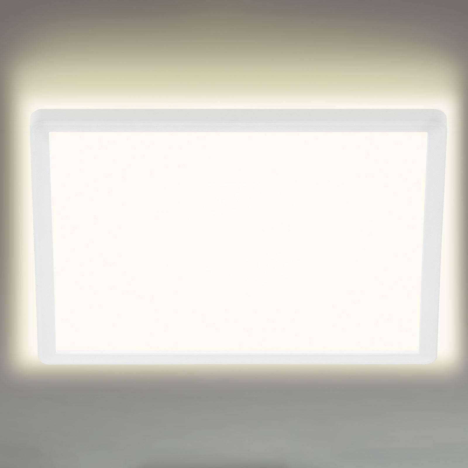 LED-kattovalaisin 7156/7158, kulmikas 42x42cm