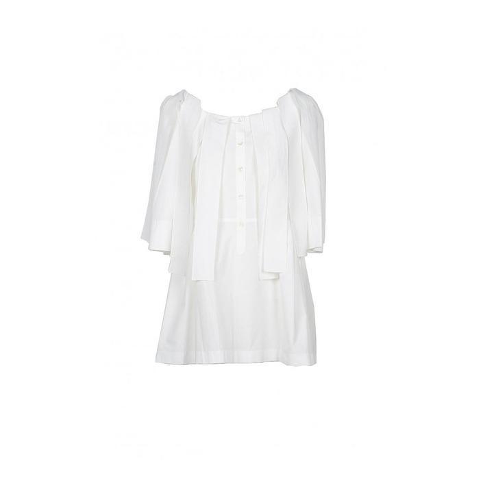 Boutique Moschino Women's Shirt White 171768 - white 40
