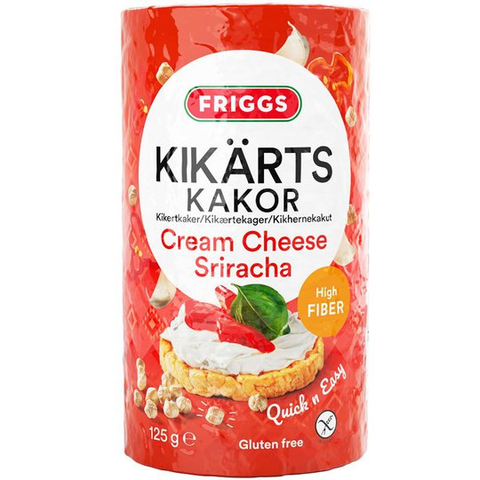 Kikärtskakor Cream Cheese Sriracha - 44% rabatt