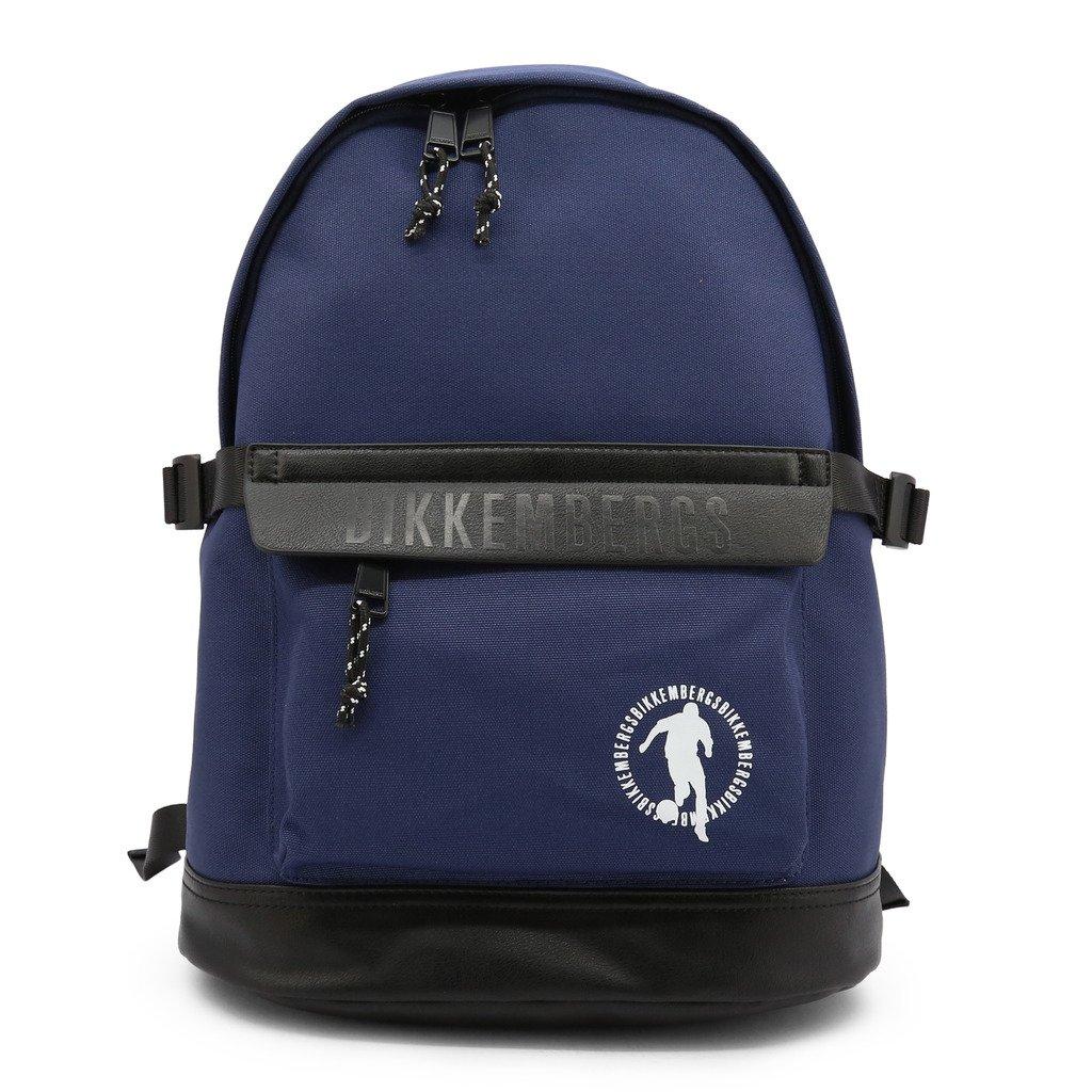 Bikkembergs Men's Backpack Various Colours E2BPME1M0035 - blue NOSIZE